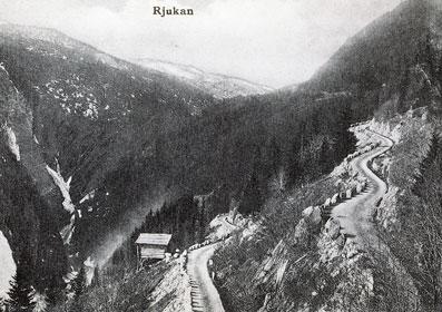 Maristigen opp frå Rjukan stod ferdig i 1897.